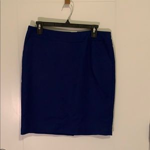 Royal Blue Merona Pencil Skirt